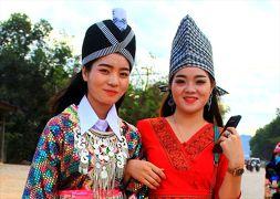 香港ミャンマー陸路旅A9■ラクサーオのピーマイ・モン祭り