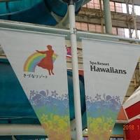 冬休み 家族でスパリゾートハワイアンズへ【1日目】 ハワイアンズを楽しむ
