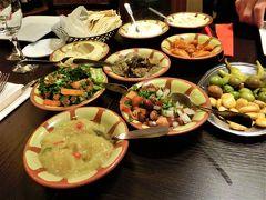 パリでレバノン料理を食べる < フランス・スイス・ドイツ鉄道の旅 4日目 その3 >