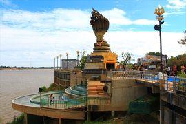 香港ミャンマー陸路旅A11■ナコーンパノムの河沿い散歩