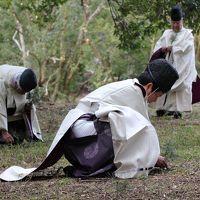 冬の京歩き�神事:上賀茂神社燃灯祭に参列