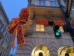 クリスマスのオーストリア 出発から1日目