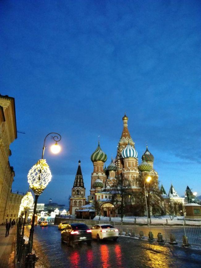 ロシアのツアーに参加して4日目。<br />サンクトペテルブルクから飛行機に乗ってモスクワへ向かいます。