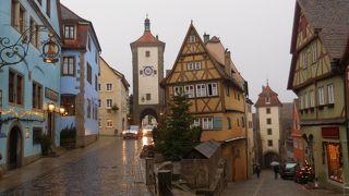 冬のメルヘン ドイツ、東フランスを巡る 21(ドイツ編) 9日目③ ローテンブルク②