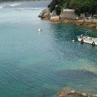 2018年8月、ふるさと納税で行く四国。台風20号の余波の柏島で海水浴!
