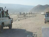 ジブチ旅行 4/4 (ジブチ4日目) アッベ湖からエチオピア国境へ