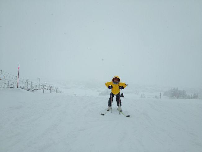 帰省がてら、新潟でスキー~ローカル感あり・高速から近くて便利★五日町スキー場(2018年12月)~