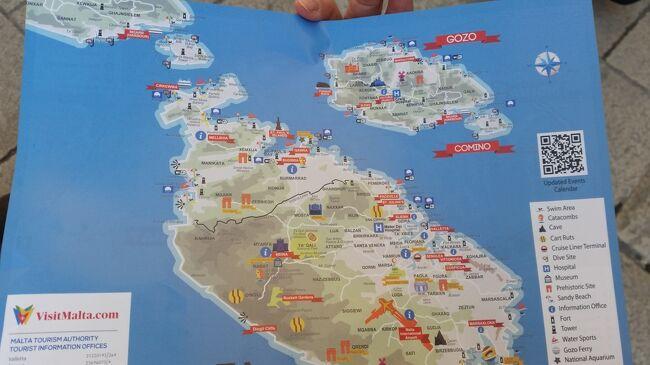 2019年2月27日(水)~3月5日(火)阪急トラピックス主催<br />「〈インターコンチネンタルホテル指定!〉エミレーツ航空利用!<br />地中海に浮かぶ世界遺産の国 マルタ島7日間」に参加しました。寒いのは苦手なので、少し暖かそうな国に行きたいこと、この時期ならではのお祭りが見られること、インターコンチというちょっと高級なホテルに連泊すること。これらが決め手になりました。その1日毎の旅行記です。<br /> 主な日程は下記の通りです。<br />1日目 27日(水)成田発ドバイ<br />2日目 28日(木)ドバイ乗り継ぎ キプロス共和国ラルナカ経由 <br />         マルタ島 インターコンチネンタルホテル4連泊<br />3日目   1日(金)ブルーグロット ハジャーイム神殿 <br />         ヴァレッタ観光◎騎士団長の宮殿◎聖ヨハネ大聖堂<br />                  〇アッパー・バラッカ・ガーデン<br />4日目   2日(土)ゴゾ島観光◎ジュガンティーヤ神殿〇ドゥエイラ湾<br />                  〇ファンガスロック〇ヴィクトリア観光<br />                          〇大城塞[チタデル]〇ゴゾ大聖堂〇カリプソの洞窟<br />                          〇サンディ・ビーチ<br />5日目   3日(日)〇スリーマOP◎漁港マルサンシュロック散策<br />                   ◎スリーシティーズ観光<br />6日目   4日(月)◎モスタの大聖堂〇イムディーナ観光 <br />                   キプロス共和国ラルナカ経由 空路ドバイへ<br />7日目   5日(火)ドバイ~成田 買い物編