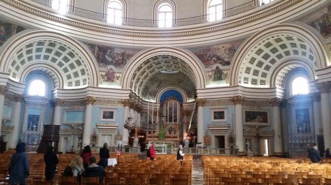 地中海に浮かぶ世界遺産の国マルタ島7日間 6日目 モスタの大聖堂~イムディーナ~ラルナカ~ドバイ