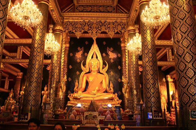 香港ミャンマー陸路旅A18■ピッサヌロークで黄金仏を鑑賞