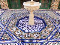 短い自由時間のお買い物攻略法(笑)・ピンク色の街マラケッシュ〜色彩の王国モロッコの旅7日目�+8日目�