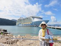 � 2回目の世界最大豪華客船「オアシス・オブ・ザシーズ、23万トン」でカリブ海(メキシコ・ジヤマイカ・ハイチ)クルーズ