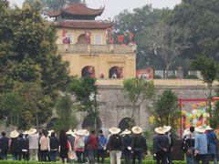 2019早春、ベトナムとラオスの旅(1/28):2月12日(1):ハノイ(1):セントレアからハノイへ、世界遺産のタンロン城址