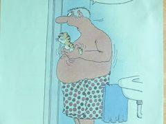 番外編:ドイツ伝統の風刺画(Karikaturカリカチュア)