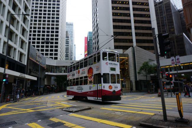 12月の香港・マカオ3泊4日の旅-8 香港街歩き、ヴィクトリアパーク、アニエスベーカフェ、中環(セントラル)散策