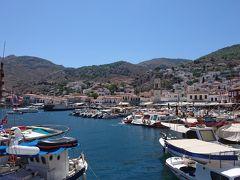 永遠ブルーの空 ギリシャ(4) エーゲ海クルーズの一日~サロニコス諸島のイドラ島
