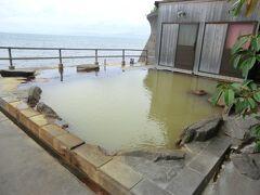 悪天候に振り回された離島航路旅・その13.古里温泉でまったり、そして台風到来!フェリー欠航~さぁどうなる?。