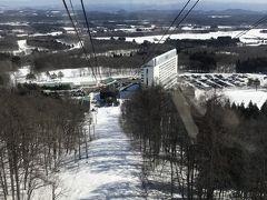 雫石プリンスホテル スキー場!