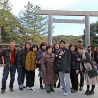 義母《傘寿》記念祝☆4世代で行く伊勢・鳥羽と浦村カキ小屋で食べ放題!!