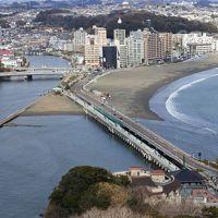初めての江ノ島上陸&江ノ電乗車!ちょっとだけ鎌倉探索
