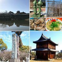 福岡グルメと観光とお城ちょこっと旅 日本100名城巡りの巻