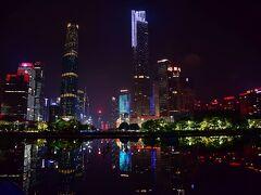 香港経由で食の都、広州へ