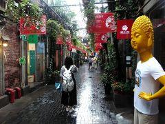対照的な古き街並み・昔ながらの生活臭漂う「老西門」と、路地裏アートな街「田子坊」 Peach 深夜便でゆく 上海ひとり旅 その3