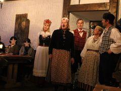 中世の薫り漂うバルト三国とバルト海の乙女フィンランド8日間【9】リガからタリンへ〜今宵はフォークロアディナーショーでみんなで踊ろう♪〜
