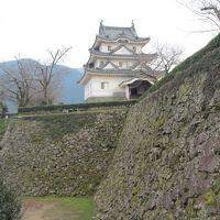 愛媛&高知の百名城巡りの旅3日目(大洲城&宇和島城)