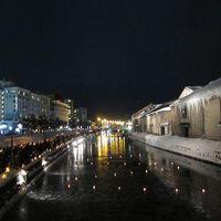大寒波襲来の北海道・さっぽろ雪祭り、小樽、函館3泊4日旅行記�小樽へ