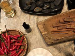 シェフの挑戦的創作料理、デザートはまさかのロシアンルーレット!唐辛子・石・シナモン食べられるのはそれぞれ2つずつ。