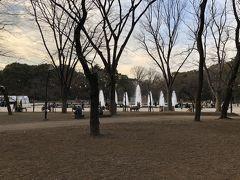 冬の終わりの上野公園