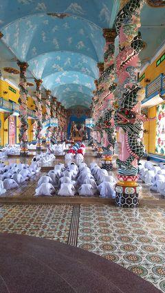 名古屋からベトナム航空にてホーチミンへ 5 カオダイ教寺院