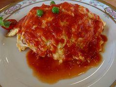 松本で洋食を食べに行きました。「キッチントマト」