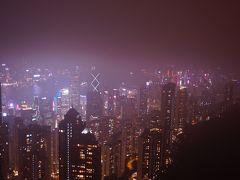 12月の香港・マカオ3泊4日の旅-10 ピークタワーからの夜景