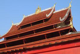 2019早春、ベトナムとラオスの旅(11/28):2月14日(4):ルアンパバーン(8):ワット・マイ 、御本尊、脇侍群、ホー・パバーン