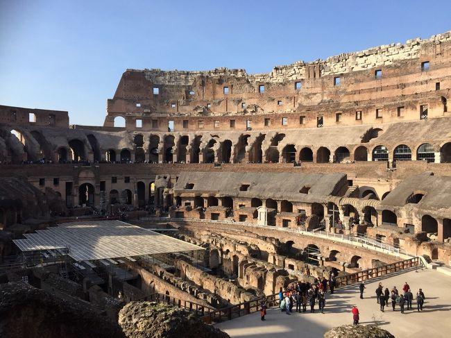 娘の希望で6泊8日北イタリア周遊の旅へ。<br />フィンエアーでミラノに入り、ヴェローナ、ベネツィア、フィレンツェ、ピサ、サンジミニャーノ、ローマを回ります。<br />添乗員同行、食事付き、現地ガイドの案内もあり、自由時間も適度に設けられていて大満足の旅でした。<br /><br />6日目はヴァチカン、ローマ