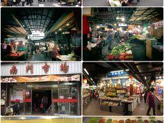台湾春節 2019 初六 街歩き 永和豆漿 景新街市場 南門市場