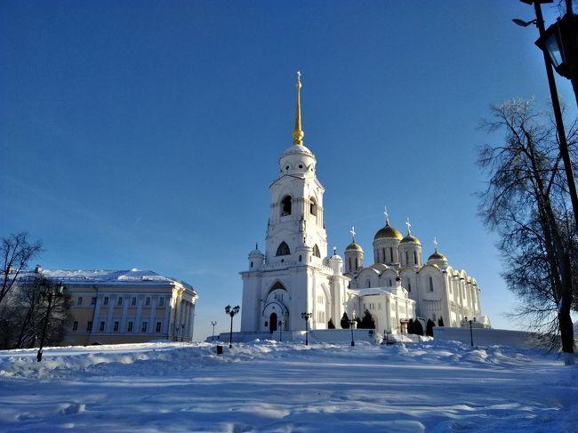 ロシアのツアーの5日目です。<br />ウラジーミルとスズタリに行ってきました。