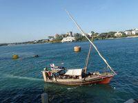 風に吹かれて スワヒリ・コースト ダウ船の旅 �はたから見たら難民船やねぁ モンバサは大都会?
