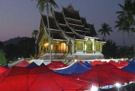 2019早春、ベトナムとラオスの旅(18/28):2月14日(11):ルアンパバーン(15):ナイトバザール、民族舞踊のディナーショー