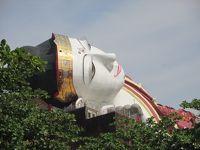 タイ・ミャンマーの旅(9)           ミャンマーは寝仏も座仏も巨大だった。