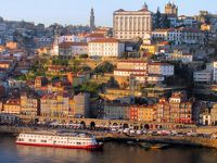 足まめ母娘のポルトガル2人旅〜リスボンからポルト〜�日曜日のポルト観光(アズレージョめぐり・ドウロ川の夕景)