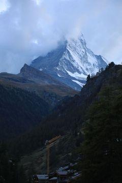 スイス3日目④マッターホルン登山基地、ツェルマットに到着