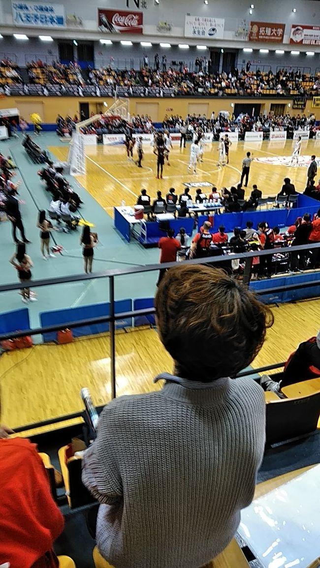 籠球第二部 香川 対 八王子<br />八王子追い上げるも 惜敗<br />第二部に上がって初めての観戦<br />