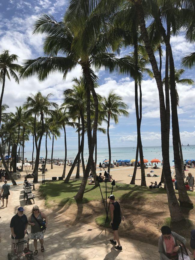 3月1日から3泊5日で オアフ島に社員旅行に行きました。到着日は、アラモアナ方面にショッピングへ。2日目はダイヤモンドヘッドに登り、下山後、KCマーケットへ。午後からパラセーリング。<br />最終日は、ハワイ島に行ってきました。<br />あっと言う間の社員旅行でした。