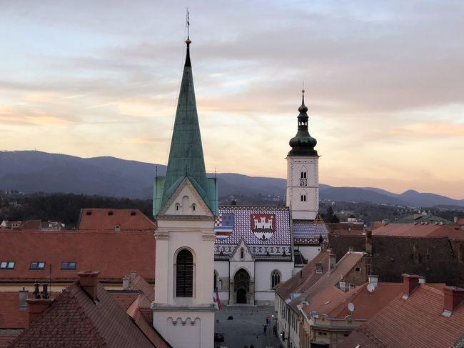 大学生の息子を引っ張り出してクロアチア3都市巡り。エミレーツ航空でドバイ経由、ザグレブからクロアチア航空で、ドブロブニク、スプリット、ザグレブに帰って、プリトビッツェ国立公園へ行く予定。まずは、ザグレブ編。