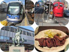 姫路・岡山の旅(16)岡電の路面電車&牛たん&ホテルヴィアイン岡山