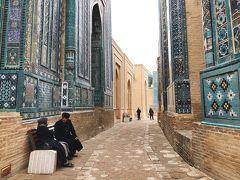 冬のウズベキスタン旅◆青の都サマルカンド