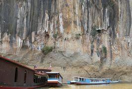 2019早春、ベトナムとラオスの旅(24/28):2月15日(6):ルアンパバーン(21):メコン川クルーズ、パークウーの洞窟、仏像群